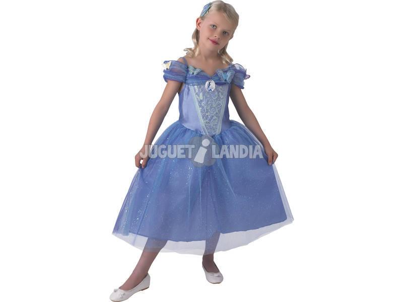 Disfarce Menina Cinderela Live Com Sapatos T - M Rubies 620393-M