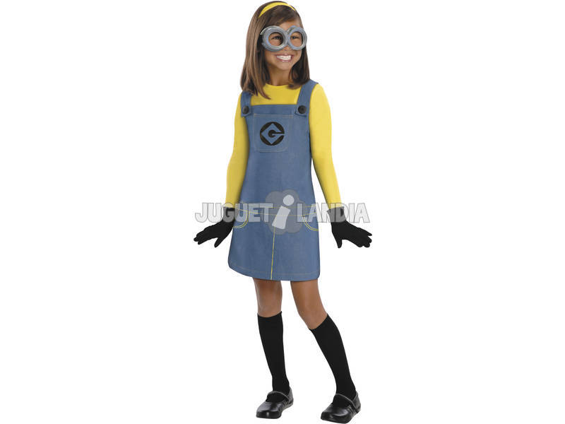 Disfraz niña Minion T-S