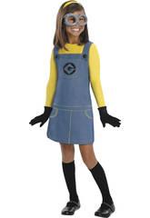 Disfraz niña Minion T-M