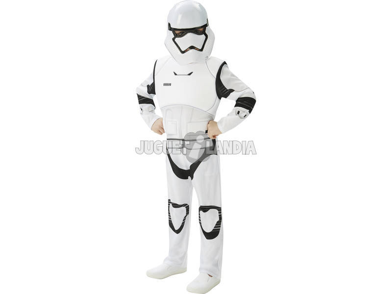 Fantasia Menino Stormtrooper Ep7 Deluxe T - M Rubies 620268