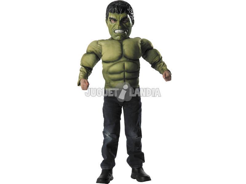 Disfraz niño Hulk Av2 Musculos Con Máscara
