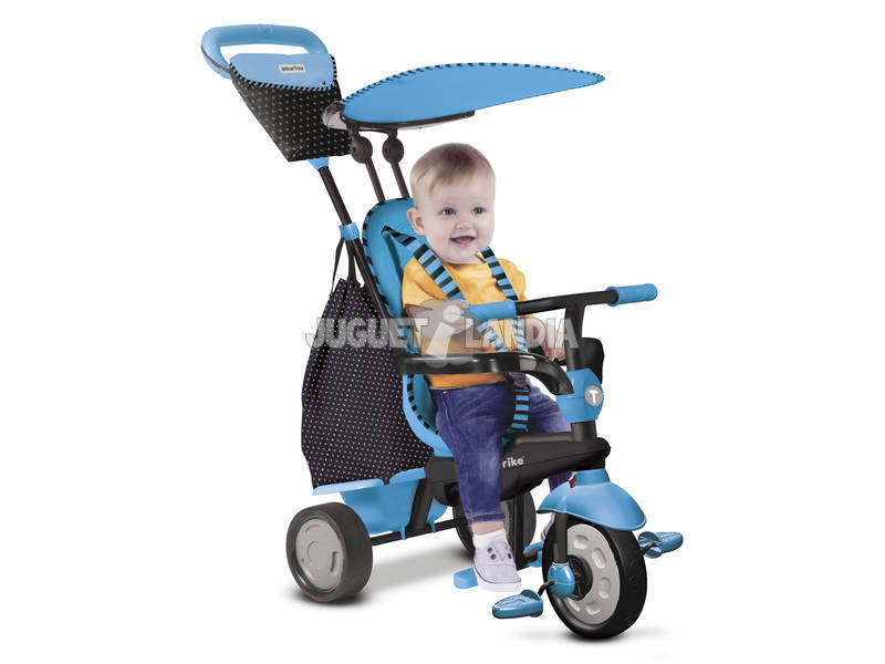 Tricycle Smart Trike Glow 4 en 1 Bleu