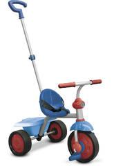 Triciclo Smart Trike Fun 2 en 1 Azul Rojo