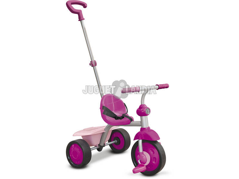 Tricycle Smart Trike Fun 2 en 1 Rose