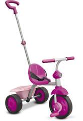 Triciclo Smart Trike Fun 2 en 1 Rosa