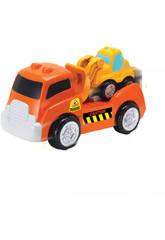 Camion avec Mini Pelle Mécanique