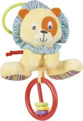 Hochet Lion Cesar avec crépitements et grincements