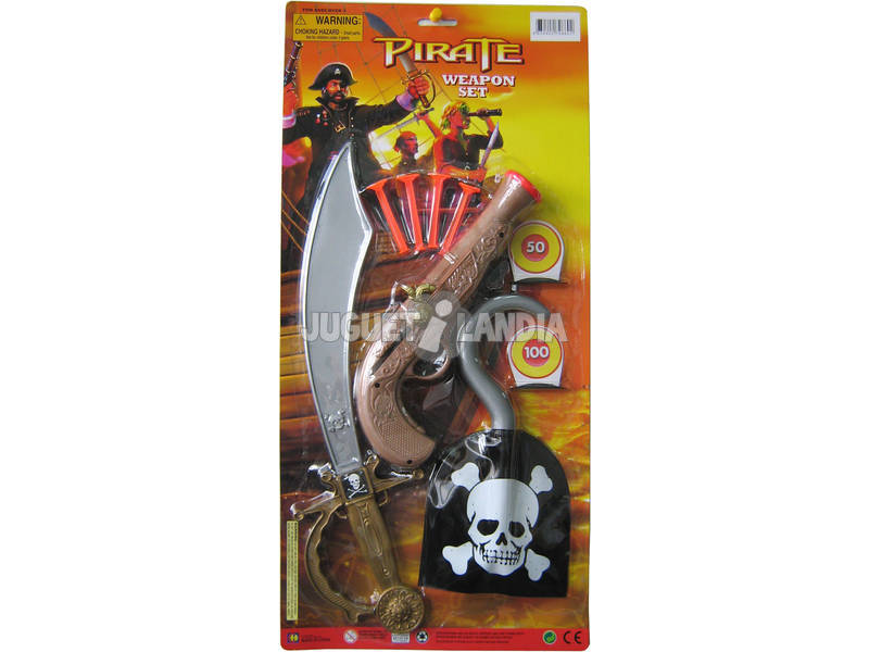 Sabre Pirate avec accessoires