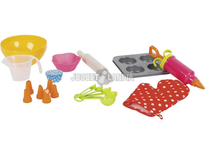 Set Para Cozer Cupcakes 20 Peças