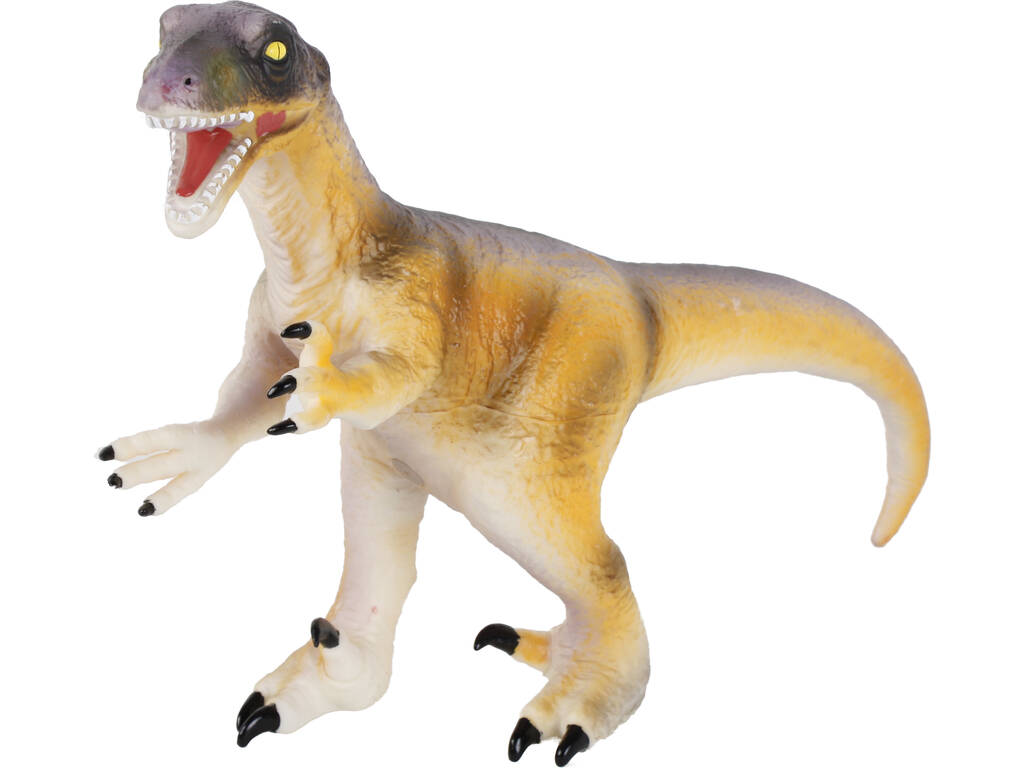 Figura Dinosaurio Velociraptor 51cm