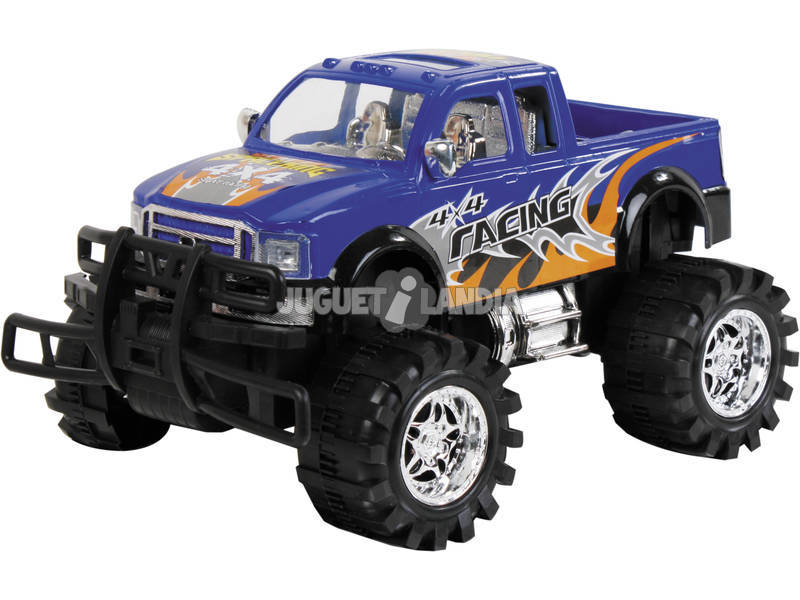 Auto 4x4 Big Wheels 38 cm Pick Up