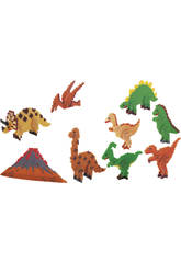 Mosaico Creativo Dinosaurios