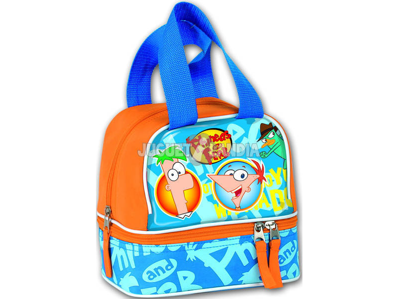 Bolsa mi merienda Phineas & Ferb