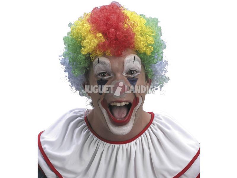 Perruque Adulte Clown Multicolore