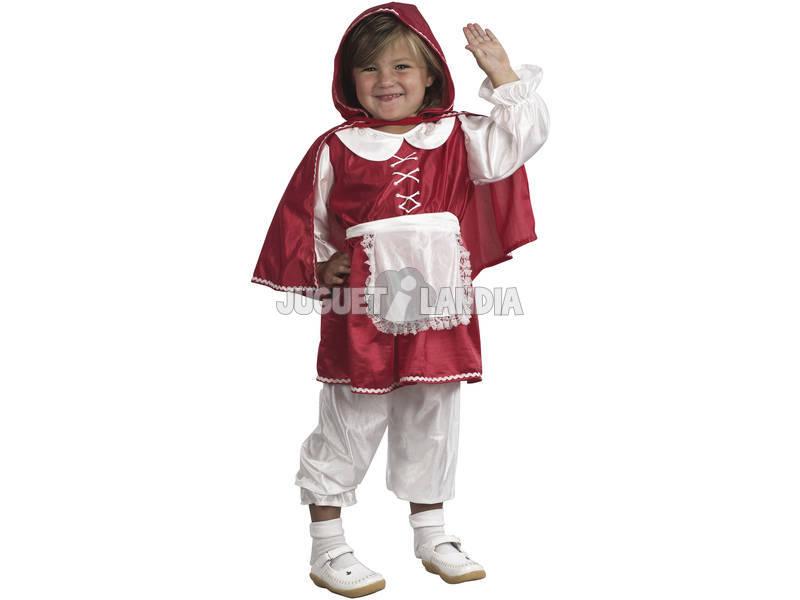 Disfraz Capa roja Bebé Talla M