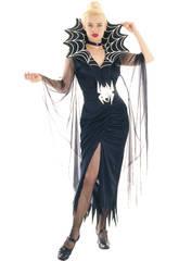 Kostüm dunkle Spinne Frau Größe L