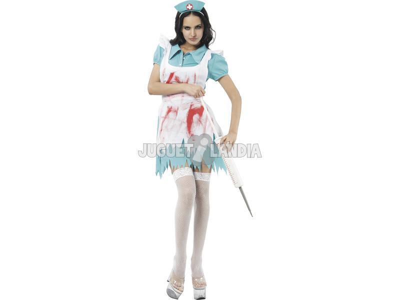 Disfraz Adulto L Enfermera Sangrienta