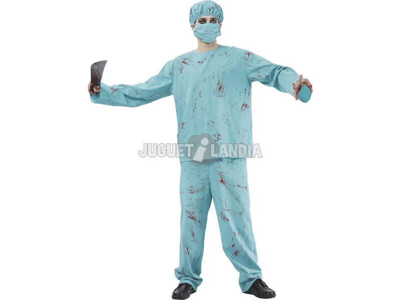 Costume Chirurgo Sanginante Uomo L
