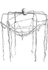 Toile d' araignée lumière Suspendue avec Araignée 150X150X5 cm