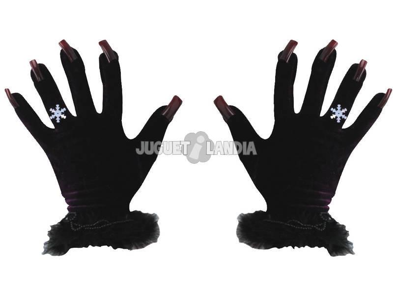 Guantes de bruja Negro