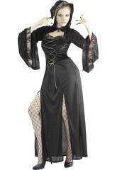 Kostüm Gothic Single Frau Größe L