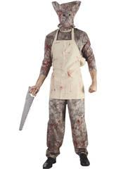 Déguisement cuisinier sanglant homme XL