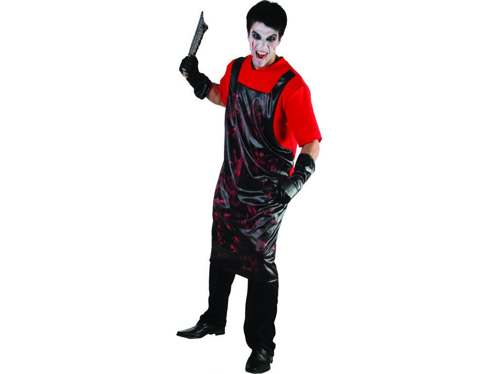 Fantasia Açougueiro Sangrento Camisola Homem L