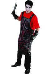 Disfraz Carnicero Sangriento Camiseta Hombre XL