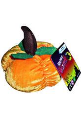 Zucca 14 cm. Peluche Halloween
