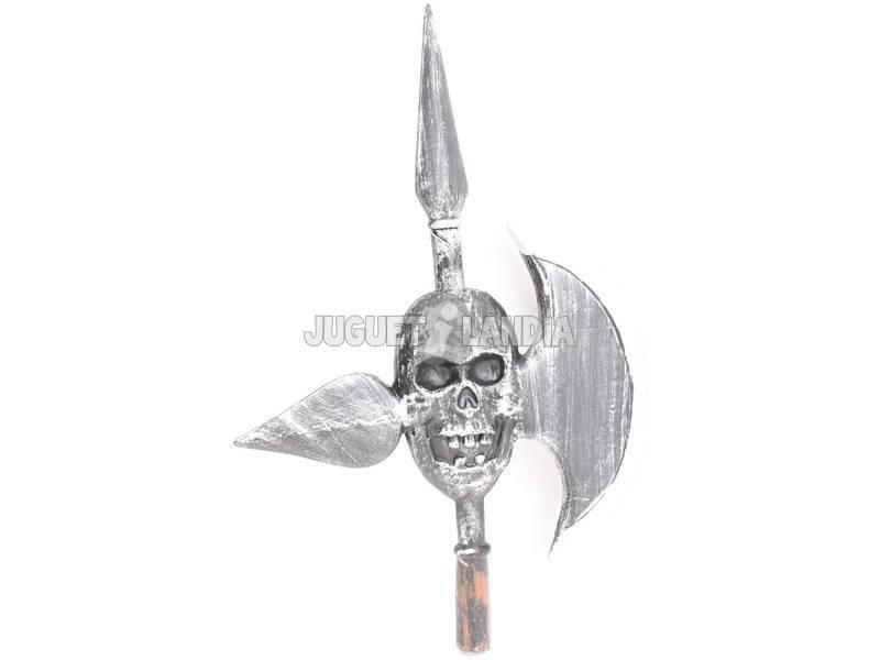 Alabarda esqueleto de 122 cm.
