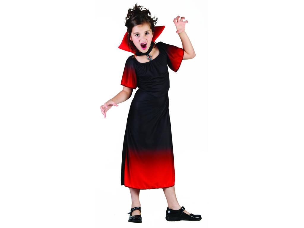 Déguisement de comtesse vampire pour fille taille S