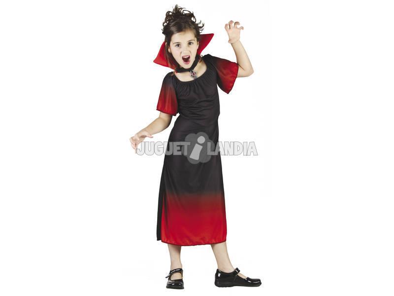Disfraz Condesa Vampira Niña Talla M