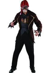 imagen Disfraz Pirata Zombi Hombre Talla XL