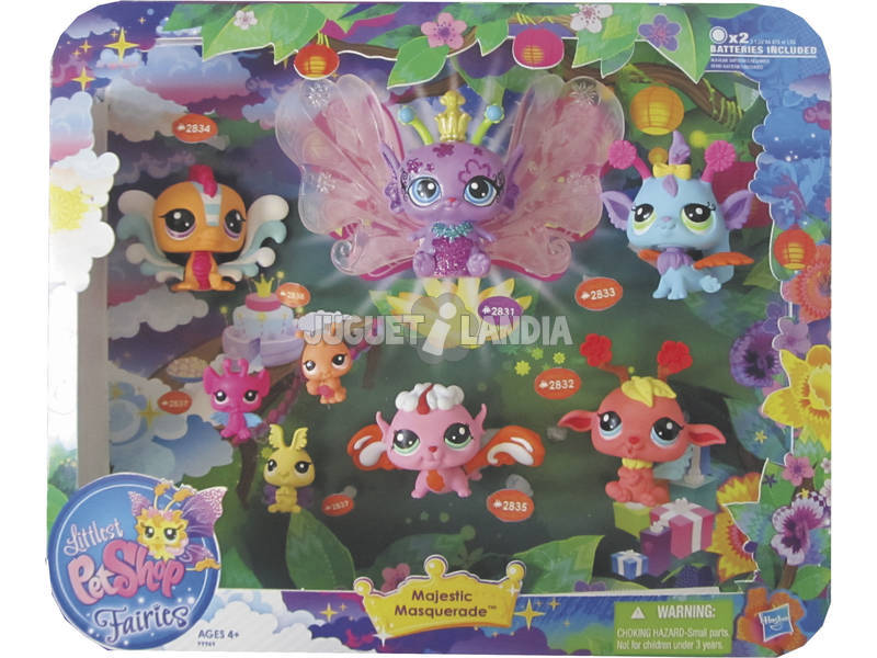 Littlest pet shop Pack collection Fées