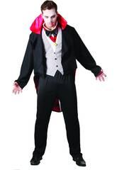 Maschera Vampiro Malvagio Uomo Taglia XL