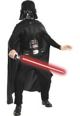 Disfraz Niño Darth Vader con Espada T-S Rubies 41020-S