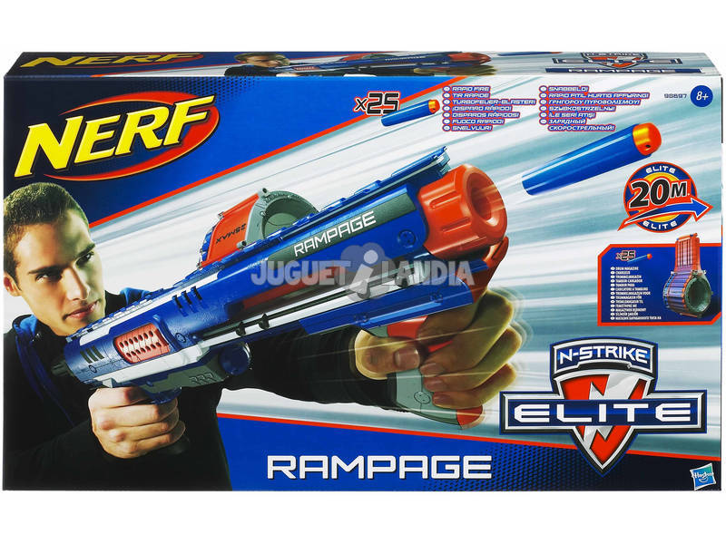 Nerf Elite Rampage