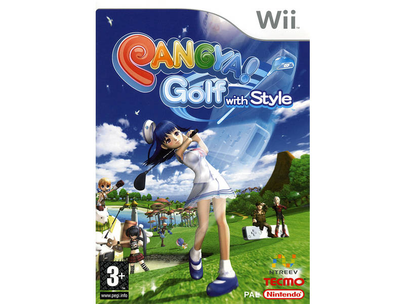 Fantasy Golf Pangya Portable - Playstation Portable (PSP