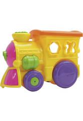 Locomotora Con Figuras Encajables 22 piezas