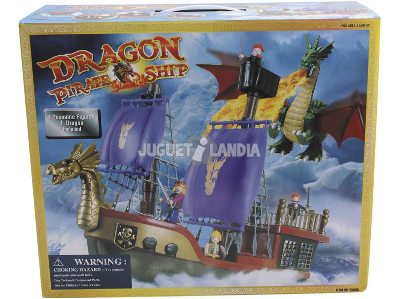Barco pirata dragon