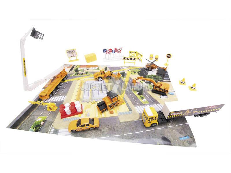 Set vehiculos construccion