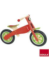 Bicicleta madera sin pedales