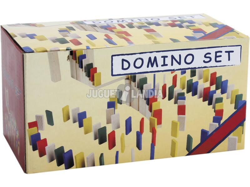 Juego domino de madera