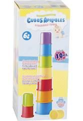 imagen Cubos Apilables Infantil 8 Piezas 25cm 6 Meses