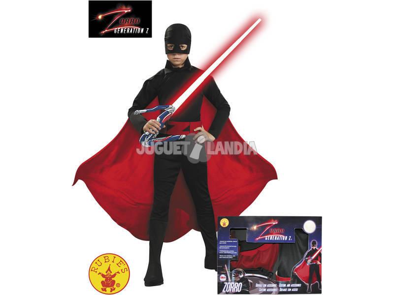 Disfraz Zorro Generación Z Niño Talla M