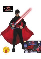 Déguisement de Zorro Génération Z pour garçon taille M