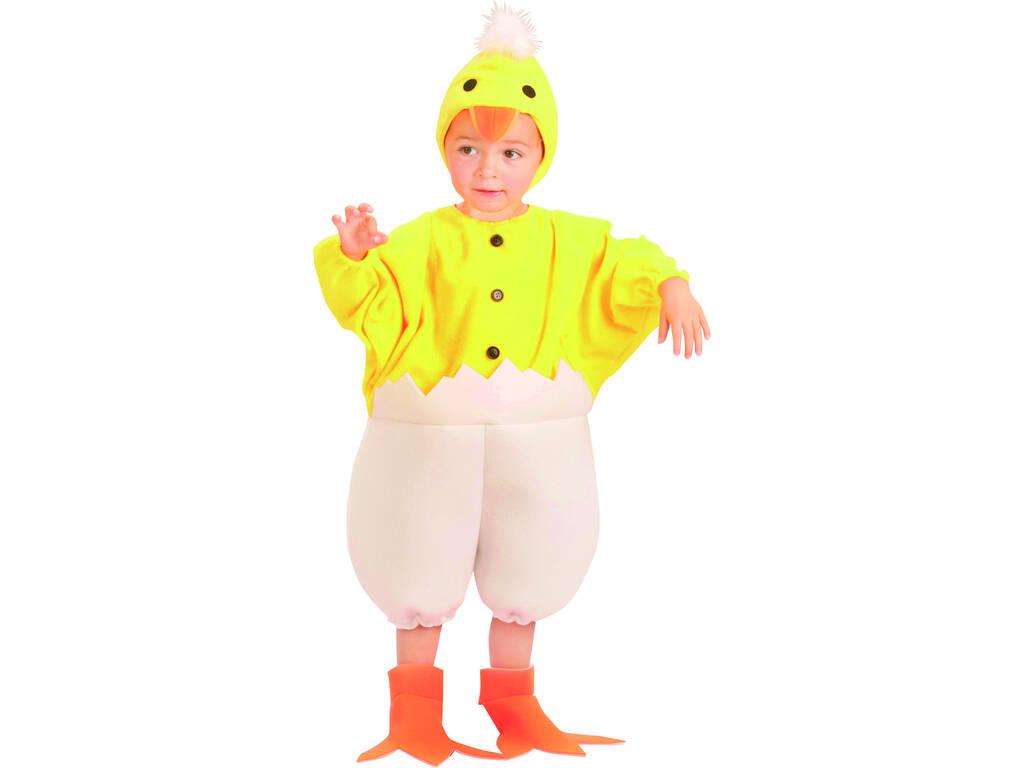 Disfraz Patito Bebé Talla L