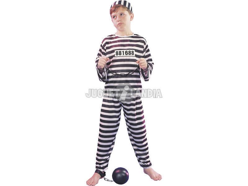 Déguisement de prisonnier taille S