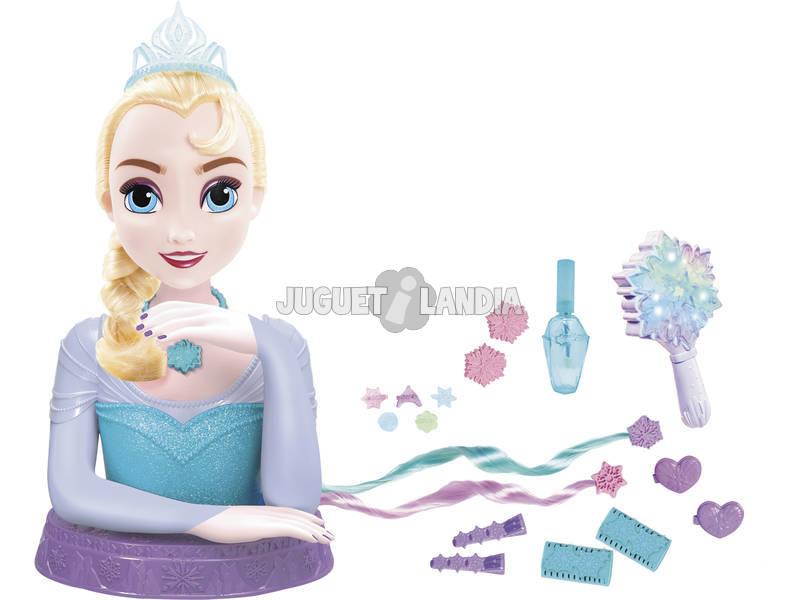 Busto Peinable Elsa Deluxe Frozen
