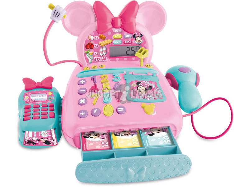 Caja Registradora Electrónica Minnie
